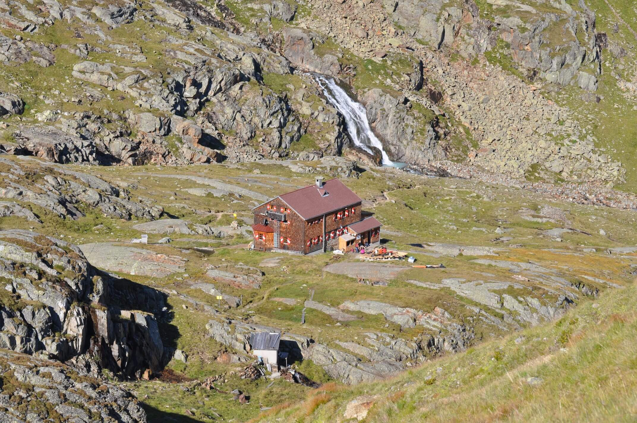 Elberfelderhütte im Gößnitzal