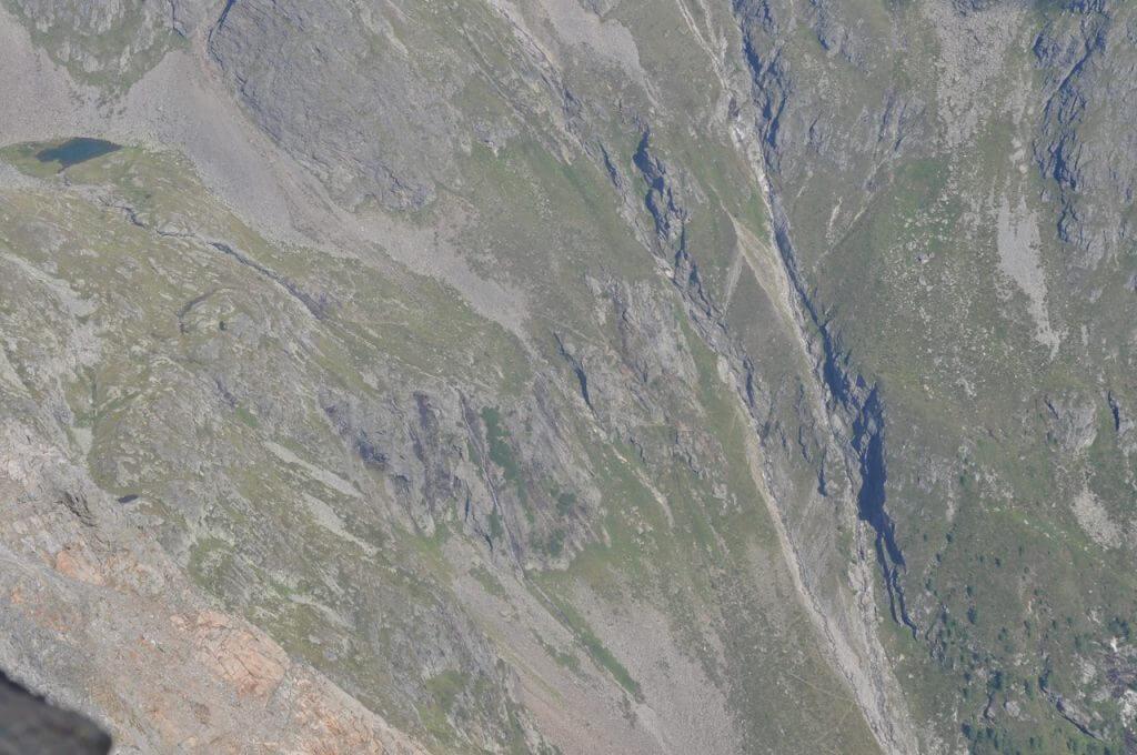 Steilstufe im Gradental
