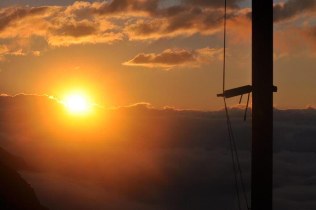 Sonnenaufgang Wangenitzseehütte