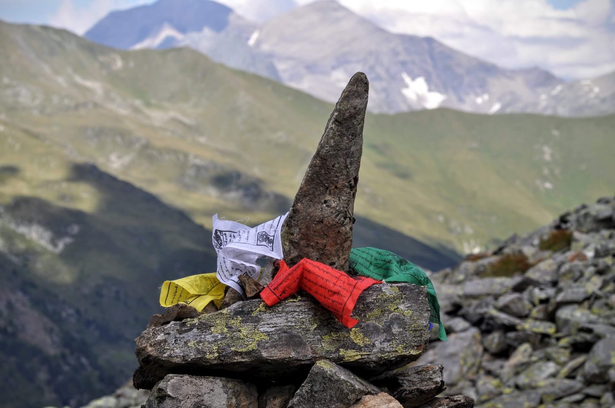 Steinmännchen Gößnitztal