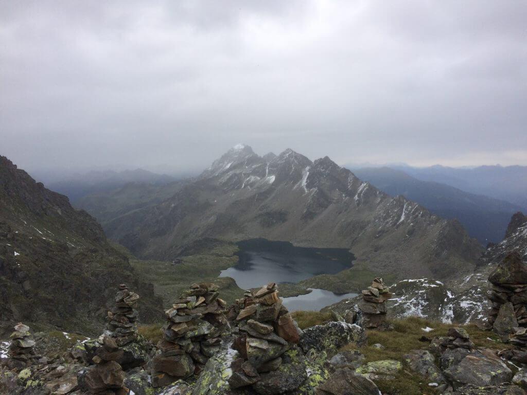 Wangenitzsee aus der Kreuzseescharte