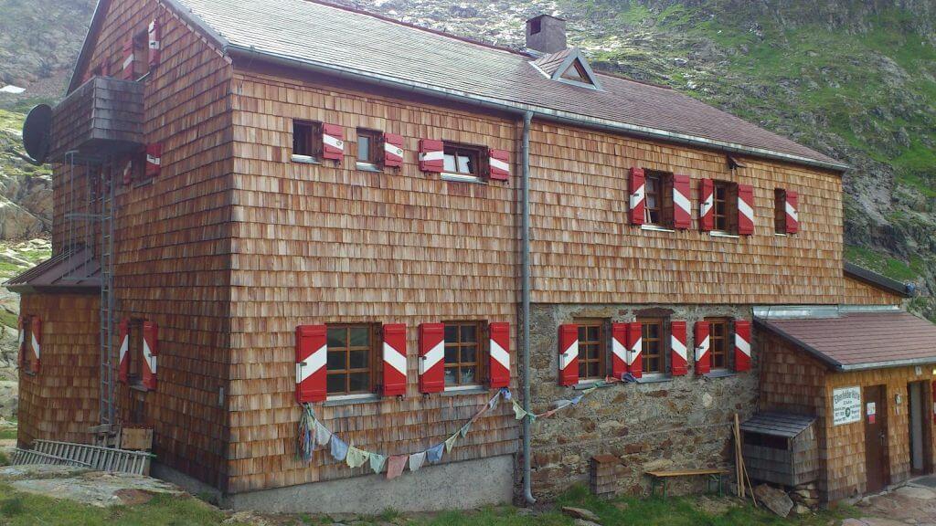Elberfelder Hütte, Nordansicht