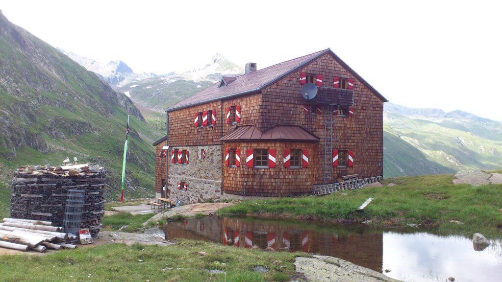 Elberfelderhütte, Südostansicht