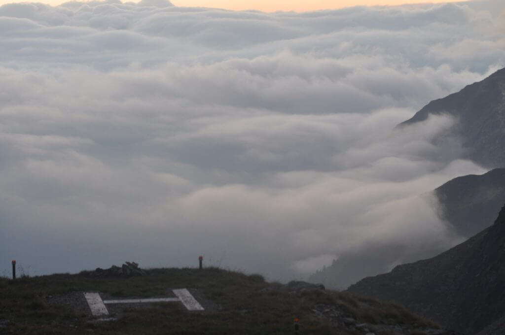Hubschrauberlandeplatz Wangenitzseehütte