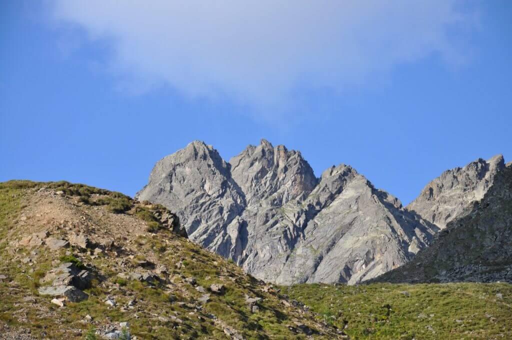Wiener Hoehenweg Berge