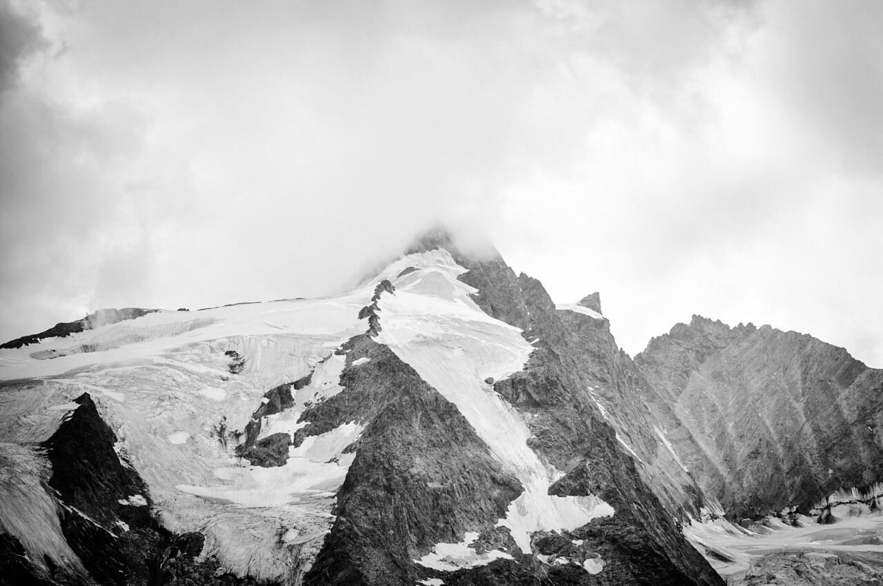 der Grossglockner, höchster Berg Österreichs