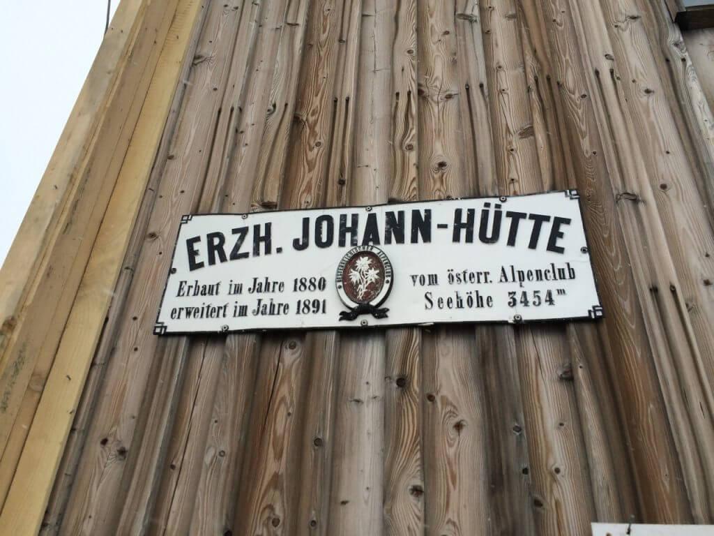 Erzherzog-Johann-Hütte auf der Adlersruhe