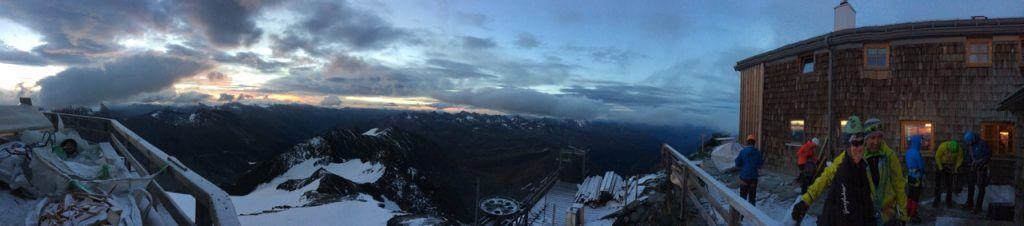 morgendliches Panorama auf der Adlersruhe