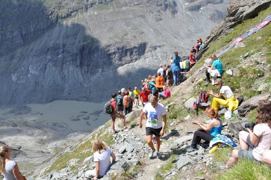Zieletappe Großglockner Berglauf