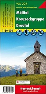 Wanderkarte Mölltal,  Kreuzeckgruppe, Drautal