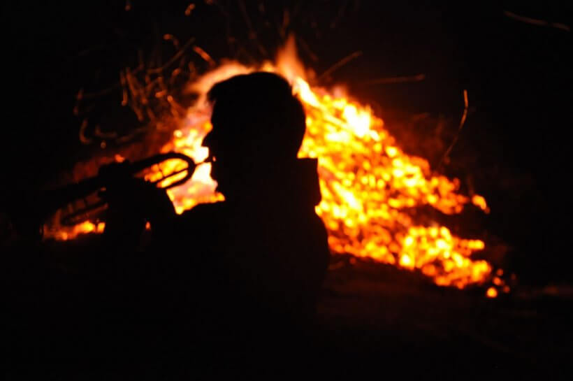 Sonnwendfeuer Mohar