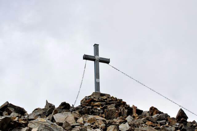 Gipfelkreuz Roter Knopf Schobergruppe