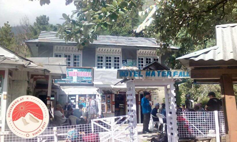 Lodge am Weg nach Namche Bazar