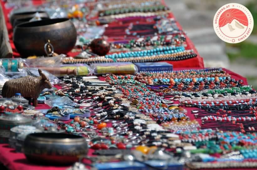 Souvenirmarkt am Durbar-Square