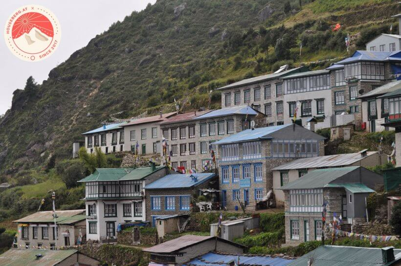 Lodges in Namche
