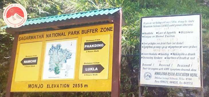 im Sagarmatha National Park