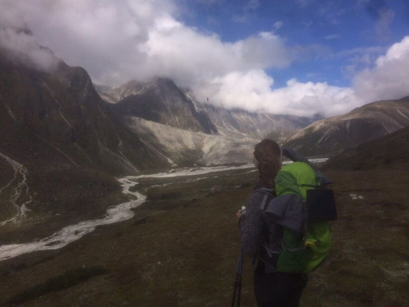 Weg von Dingboche (4.340m) nach Lobuche (4.910m)