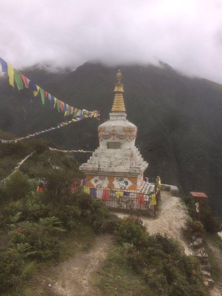 Stupa am Weg zwischen Namche Bazar und Tengboche