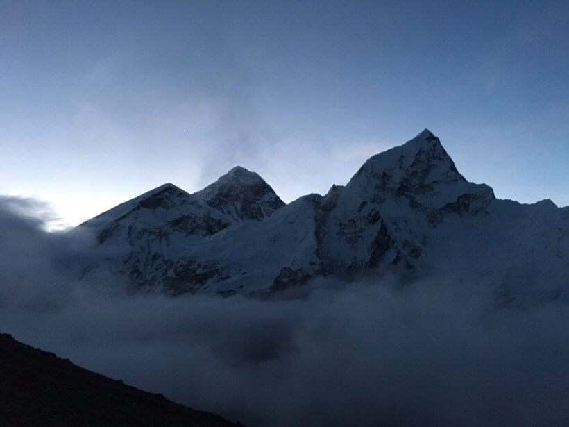 Everest und Nuptse
