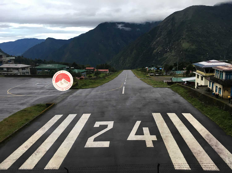 Flughafen Lukla Nepal