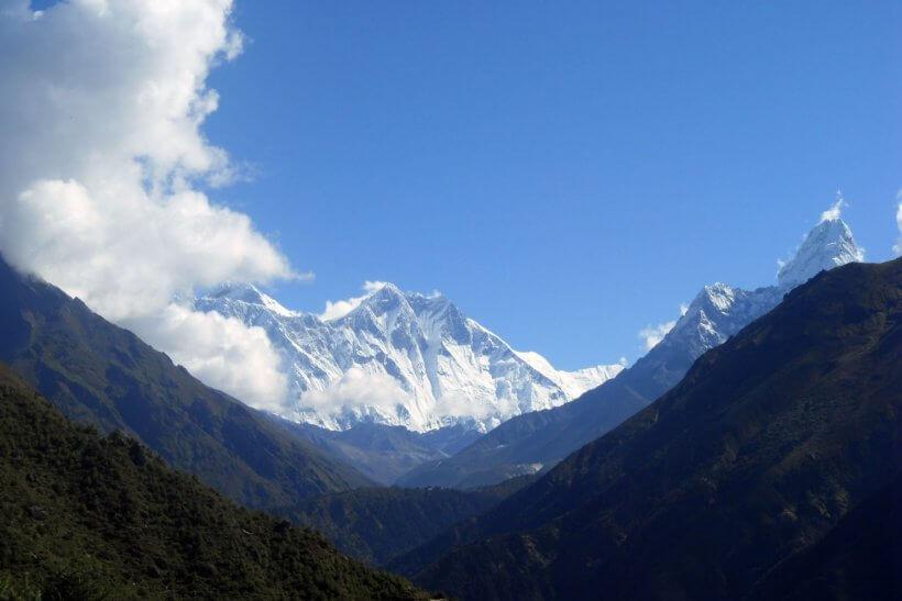 Everest, Lhotse und Ama Dablam