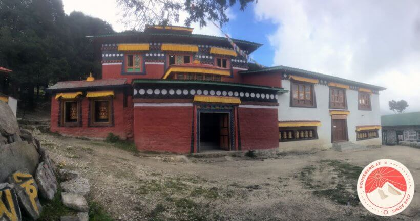 das Kloster von Khumjung