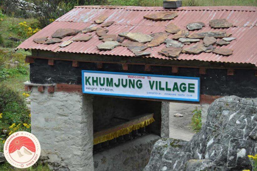 Portal nach Khumjung