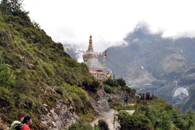 Stupa oberhalb von Namche