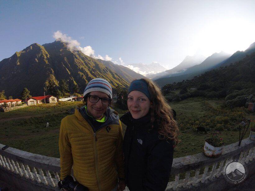Mount Everest von Tengboche