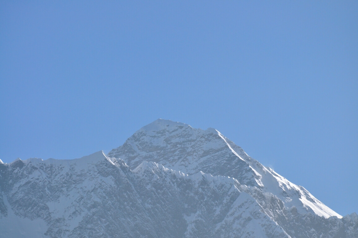 Mount Everest aus Tengboche