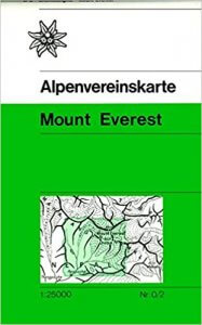 Alpenvereinskarte Everest