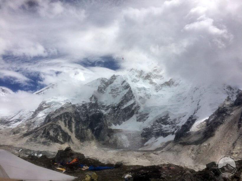 Gorak Shep Khumbu Glacier