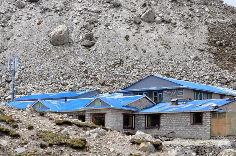 Häuser in Gorak Shep