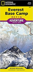 National Geographic Map Everest