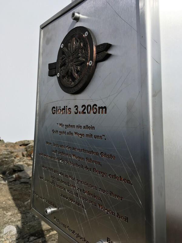 Gipfelkreuz Glödis