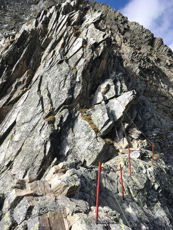 Klettersteig Glödis