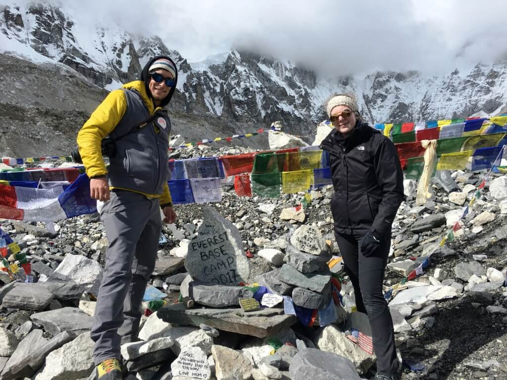 Team HouseBerg.at im Mount Everest Base Camp