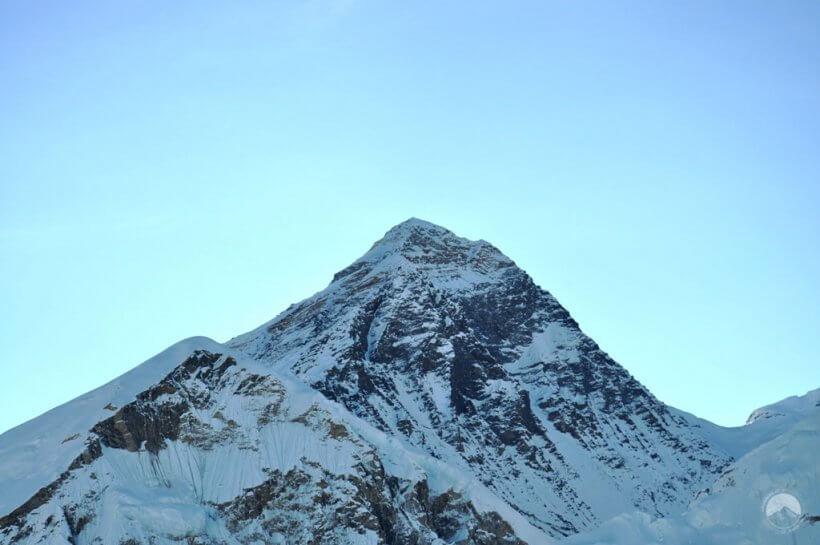 Everest vom Kala Patthar (Teleobjektiv)