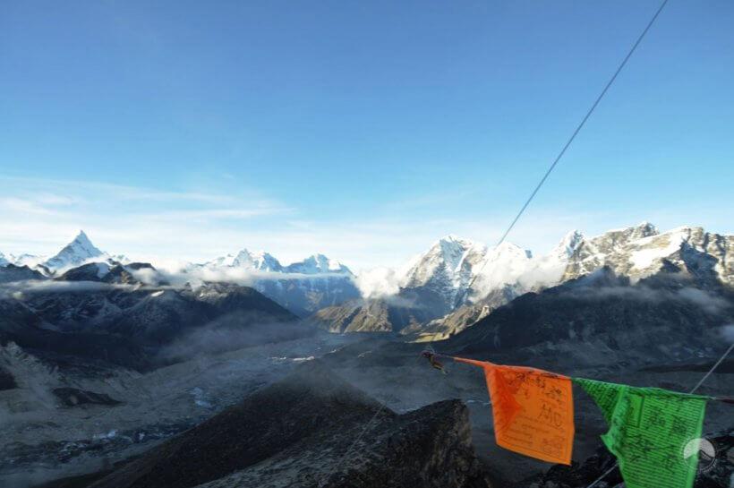 am Gipfel des Kala Patthar